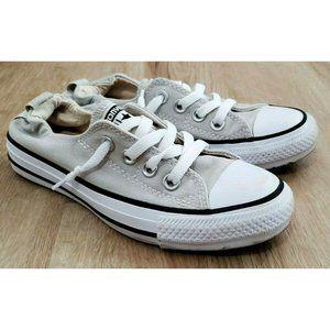 Converse Womens Shoreline Gray Sneakers Size 5